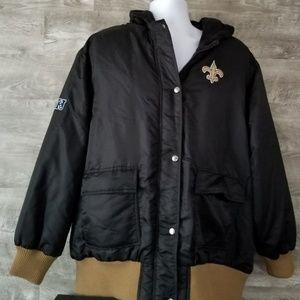 6d83cde7 NFL Pro Line New Orleans Saints Women's Jacket XL